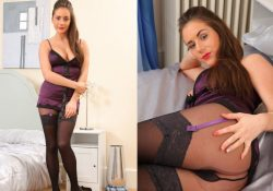 Laura H layered nylons