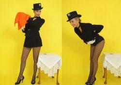 Hayley Marie Fishnet Pantyhose