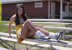 Zoligirls Cheerleader Uniform Pantyhose