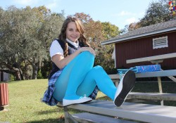 Zoligirls Angelica cute teen schoolgirl