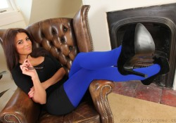 Only Opaques Secretary Pantyhose Charley S