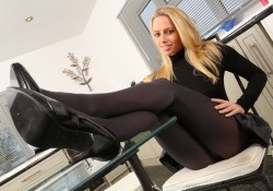 Only Opaques Pantyhose Holly Gibbons