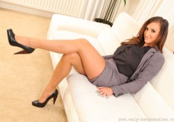 Only Secretaries Pantyhose Stacey P