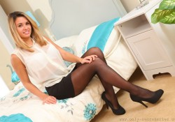 Only Secretaries Danni B Pantyhose