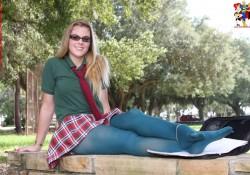 Zoligirls Kendra Lynn schoolgirl uniform