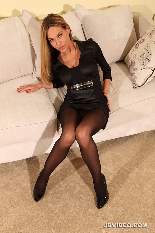 Black Pantyhose Teasing You Video