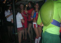 amateur halloween pantyhose