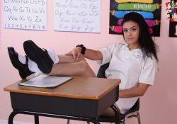 schoolgirl pantyhose katie zoligirls