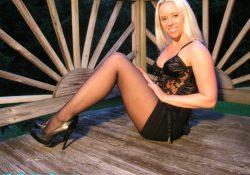 lingerie miniskirt pantyhose