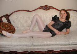 kris zoligirls ballerina leotard pantyhose
