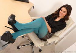 only secretaries abigail b pantyhose