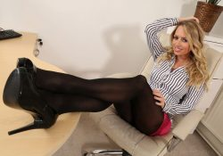 Only Secretaries Holly Gibbons pantyhose