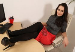 Only Secretaries Brooke Ashleigh pantyhose