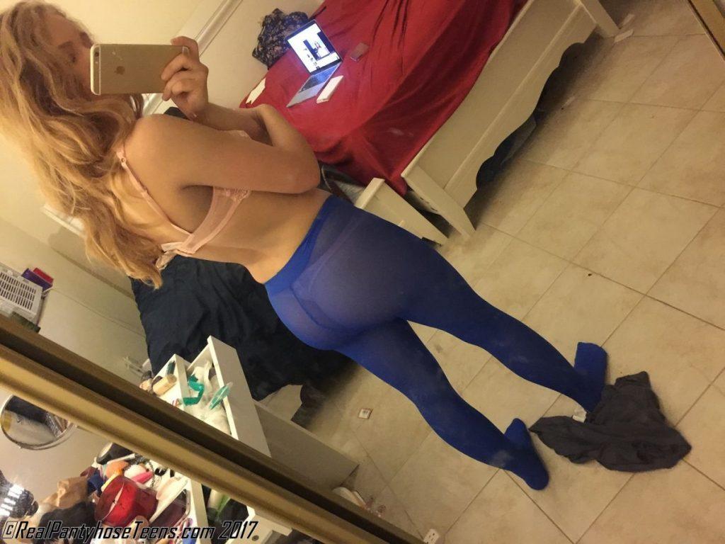 real pantyhose teens selfie chanel