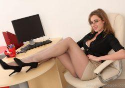 OnlyTease Rosa secretary pantyhose