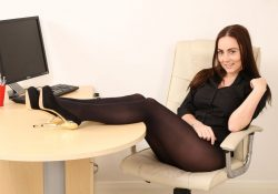 Only Secretaries Harper pantyhose