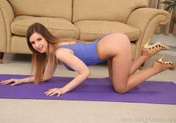 Stella Cox leotard and pantyhose