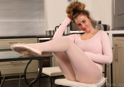 Only Tease Holly Jade ballerina pantyhose