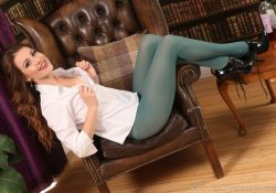 Only Tease Scarlot Rose Pantyhose