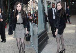 Sofia Carson pantyhose