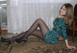 Amateur Girls In Black Pantyhose