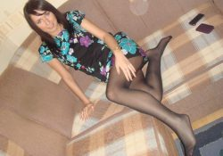 minidress pantyhose amateurs