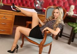 Only Secretaries Natasha Anastasia pantyhose