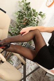 Only Tease Layla G secretary pantyhose